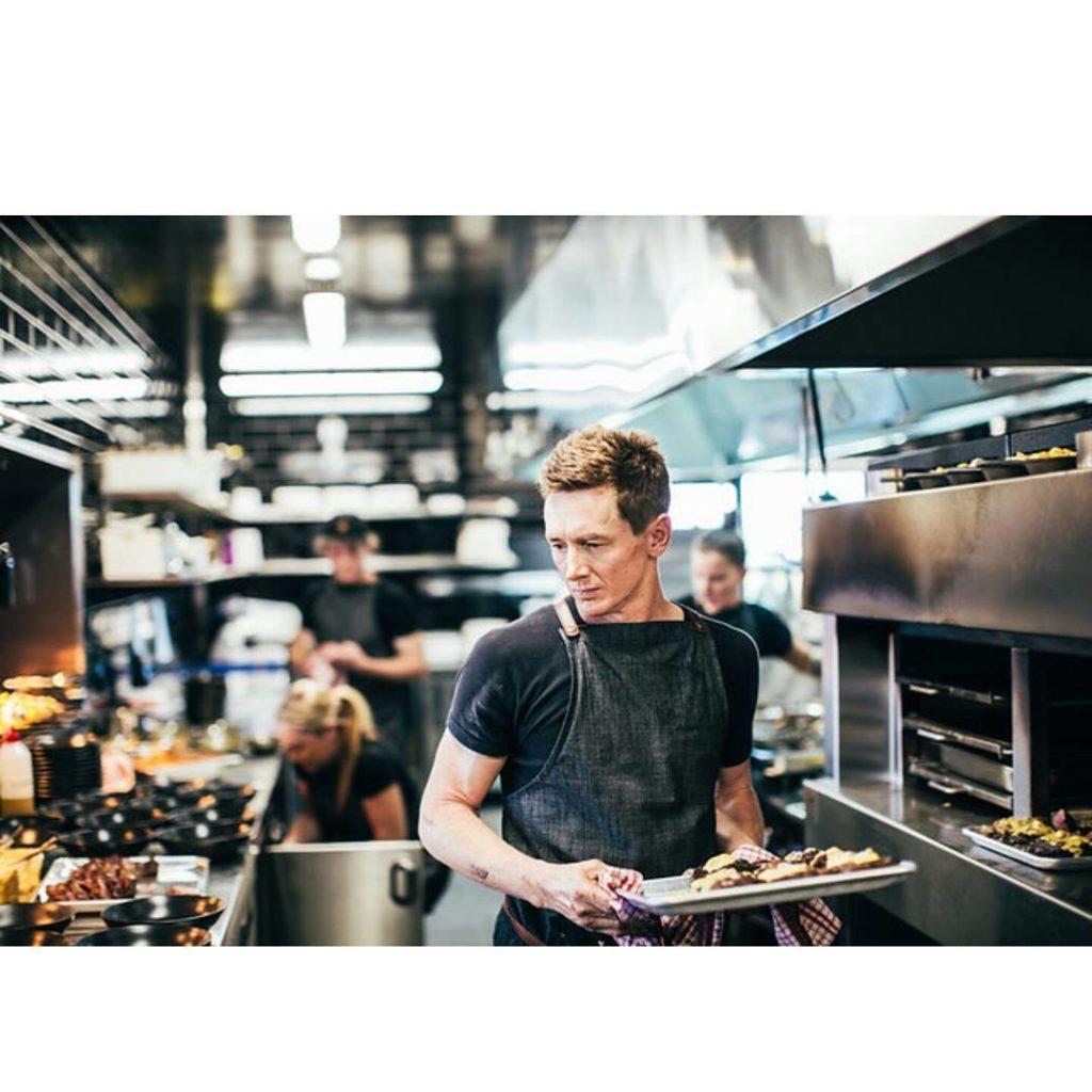 Blair Allen head chef at Amelia Park Restaurant